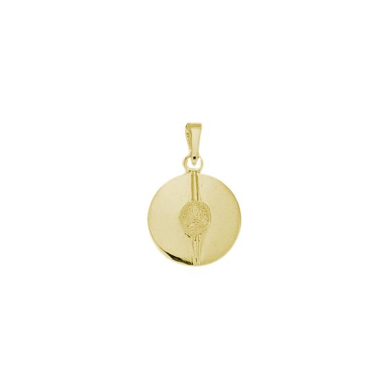 Pendentif bachi de marin plaqué or - La Petite Française