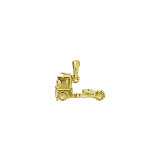Pendentif camion plaqué or - La Petite Française