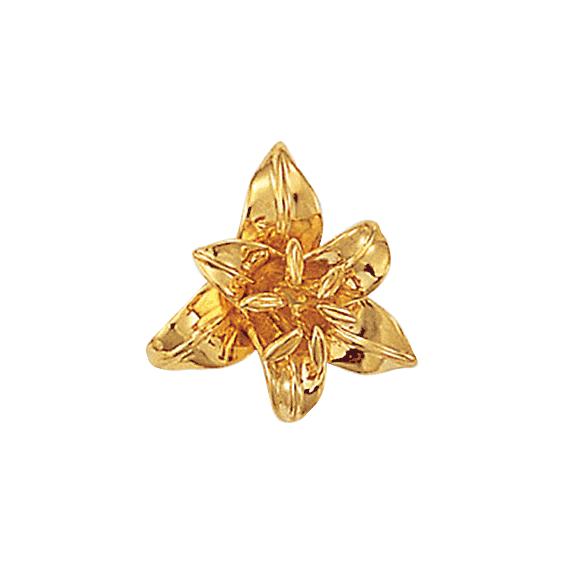 Pendentif fleur de Lys plaqué Or - La Petite Française