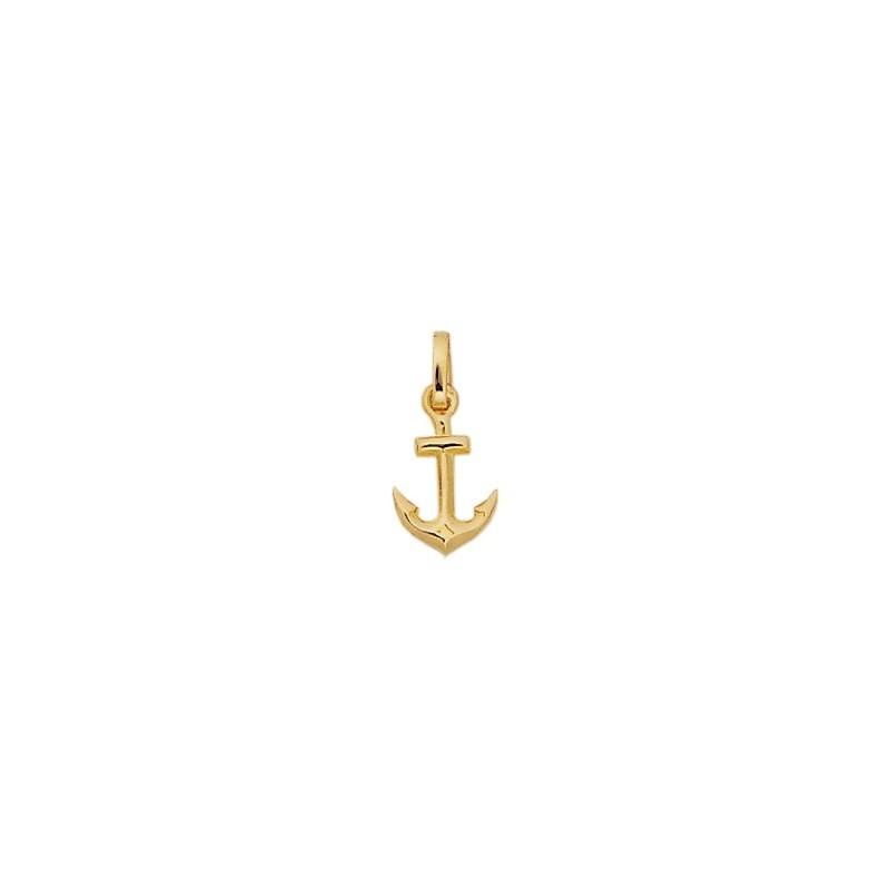 Pendentif ancre marine plaqué Or - 19 MM - La Petite Française