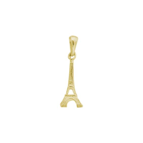 Pendentif tour Eiffel plaqué Or - 25 MM - La Petite Française