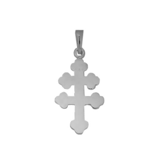 Croix de Lorraine argent - La Petite Française
