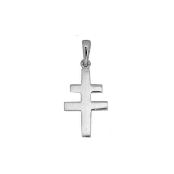 Croix de Lorraine PM argent - La Petite Française