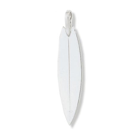 Pendentif planche de surf argent GM - La Petite Française