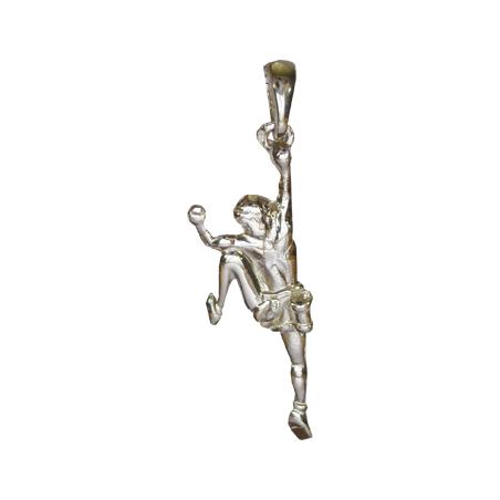 Pendentif grimpeur argent - La Petite Française