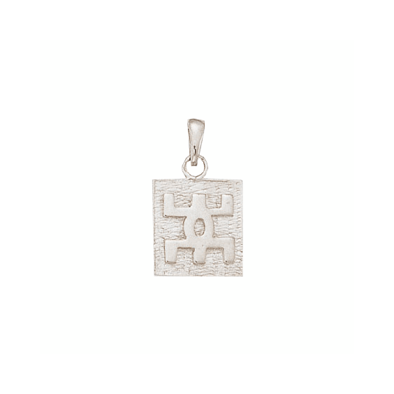 Pendentif Berbère plaque argent - 26 MM - La Petite Française