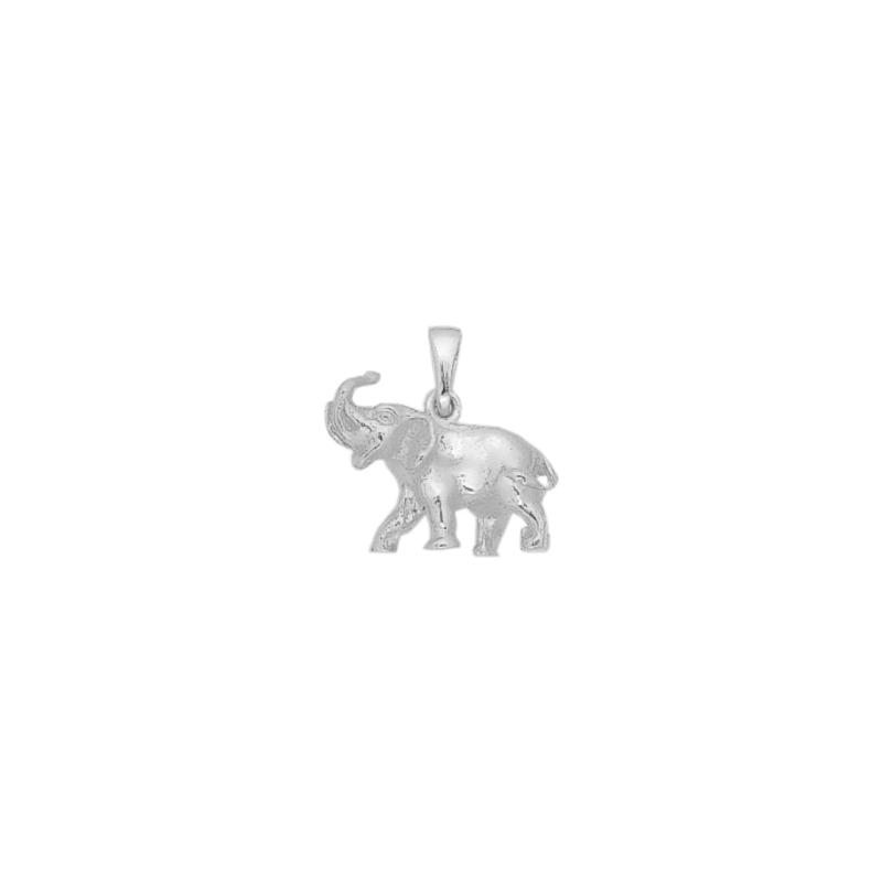 Pendentif éléphant GM argent - La Petite Française