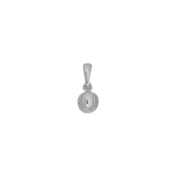 Pendentif boule de pétanque argent - La Petite Française