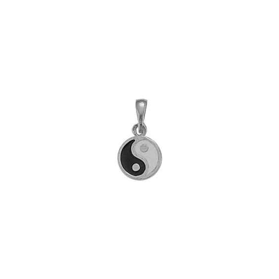 Pendentif Yin-Yang argent PM - La Petite Française