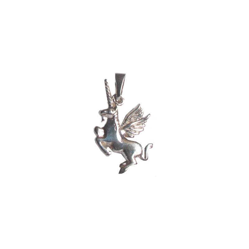 Pendentif Licorne ailée argent - La Petite Française