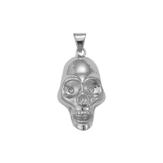 Pendentif crâne argent - La Petite Française