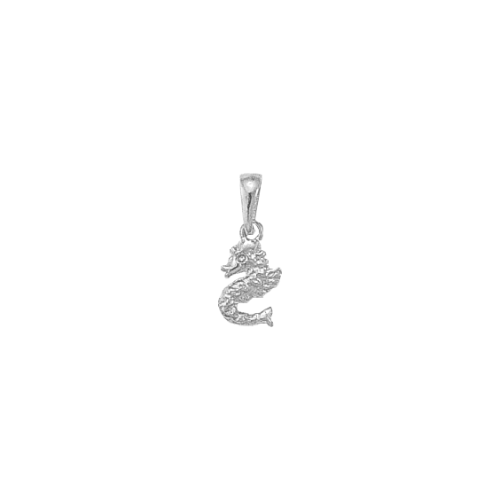 Pendentif Hippocampe argent - La Petite Française