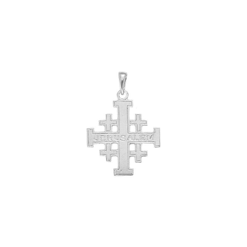 Croix de Jérusalem argent - La Petite Française