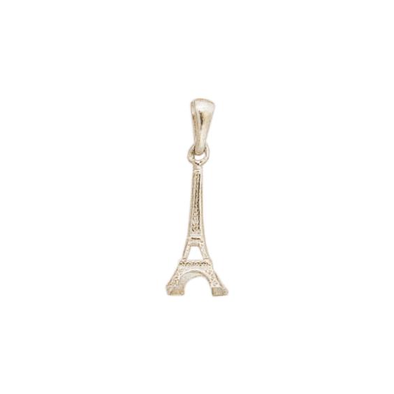 Pendentif tour Eiffel argent - 25 MM - La Petite Française