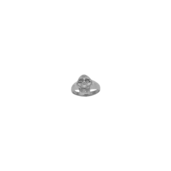 Bague crâne argent - La Petite Française