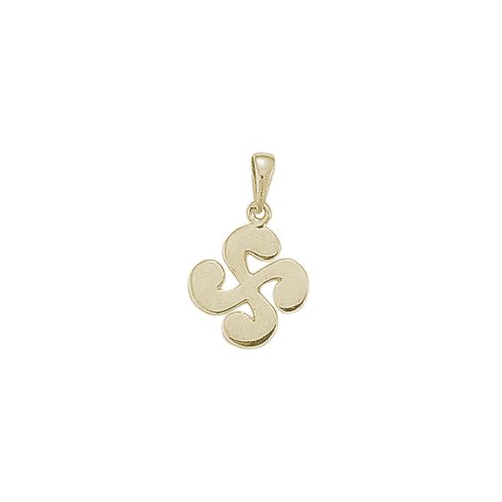 Croix Basque large argent - La Petite Française