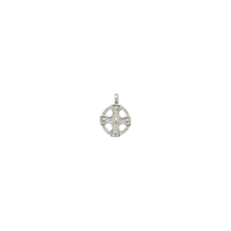 Médaille croix Celtique argent - 33 MM - La Petite Française