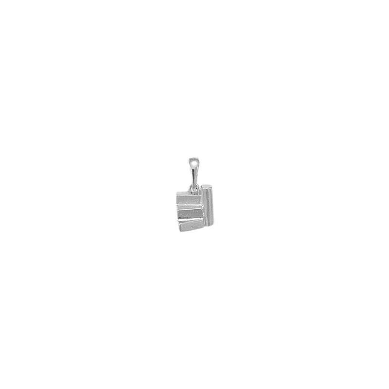 Pendentif ou pin's escalier argent - La Petite Française
