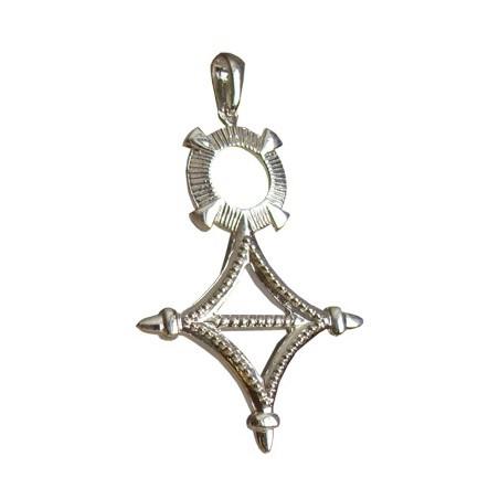 Croix du sud argent - 48 MM - La Petite Française