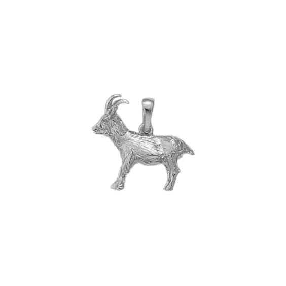 Pendentif chamois argent GM - La Petite Française