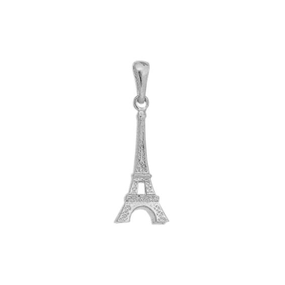 Pendentif tour Eiffel argent - 30 MM - La Petite Française