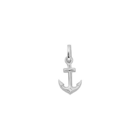 Pendentif ancre marine argent - 19 MM