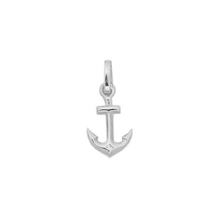 Pendentif ancre marine argent - 19 MM - La Petite Française