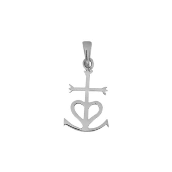 Croix Camarguaise argent - La Petite Française