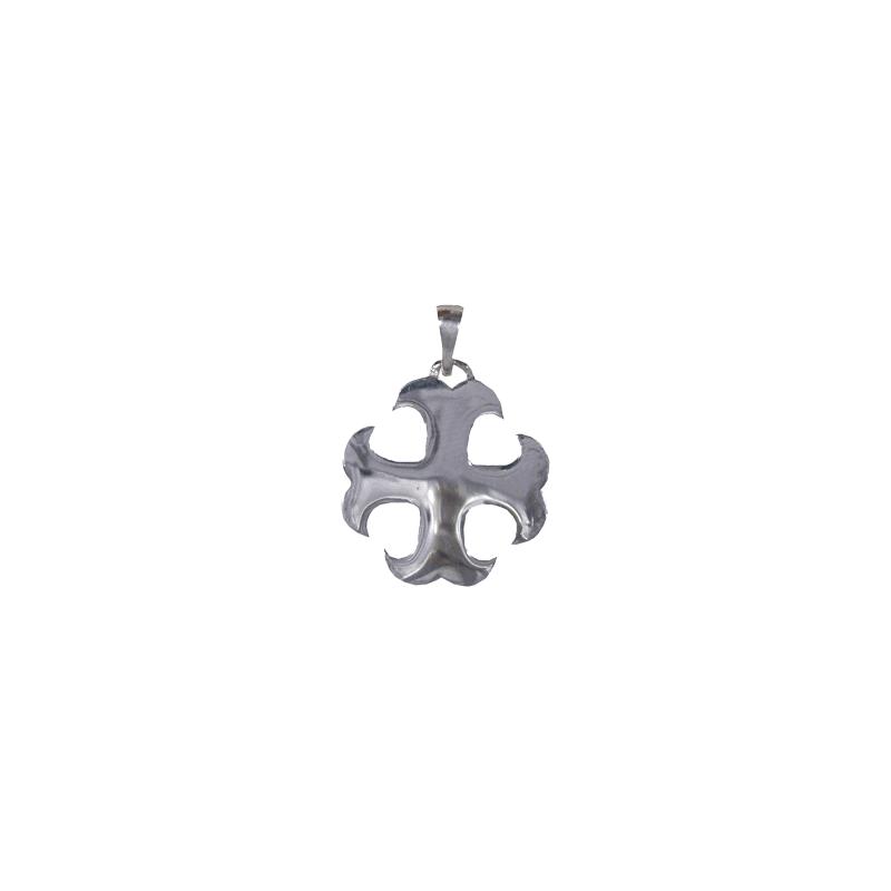 Croix Cathare en argent - La Petite Française