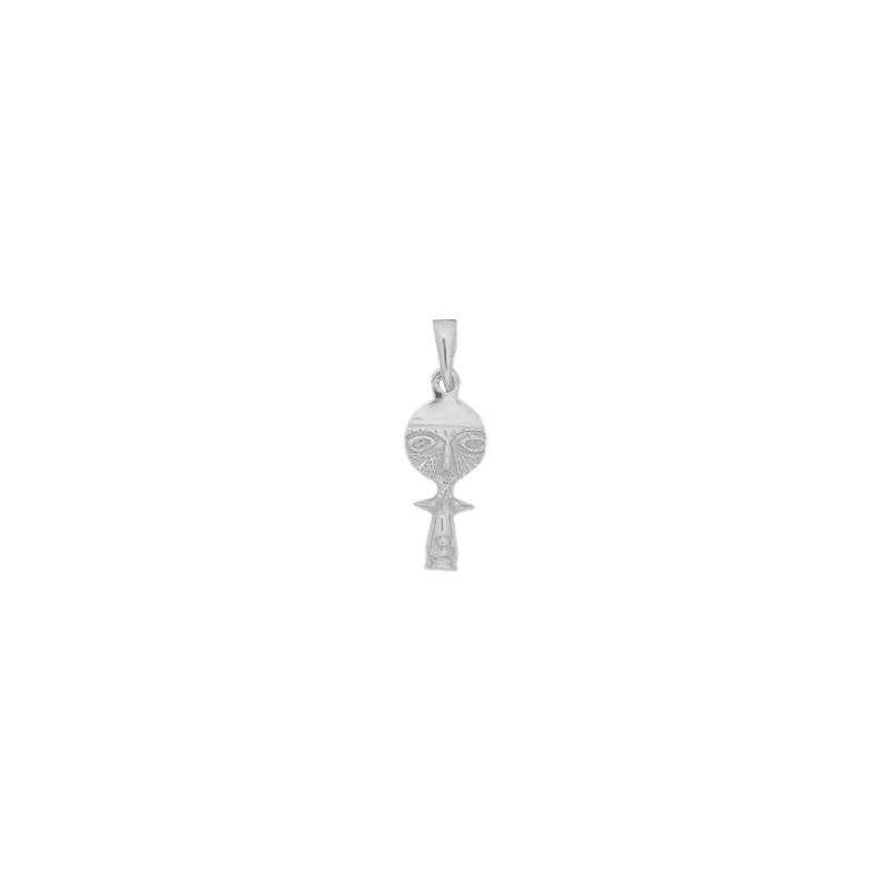 Pendentif poupée Ashanti argent - 26 MM - La Petite Française