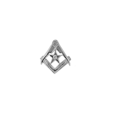 Pendentif ou pin's Compas et étoile argent - La Petite Française