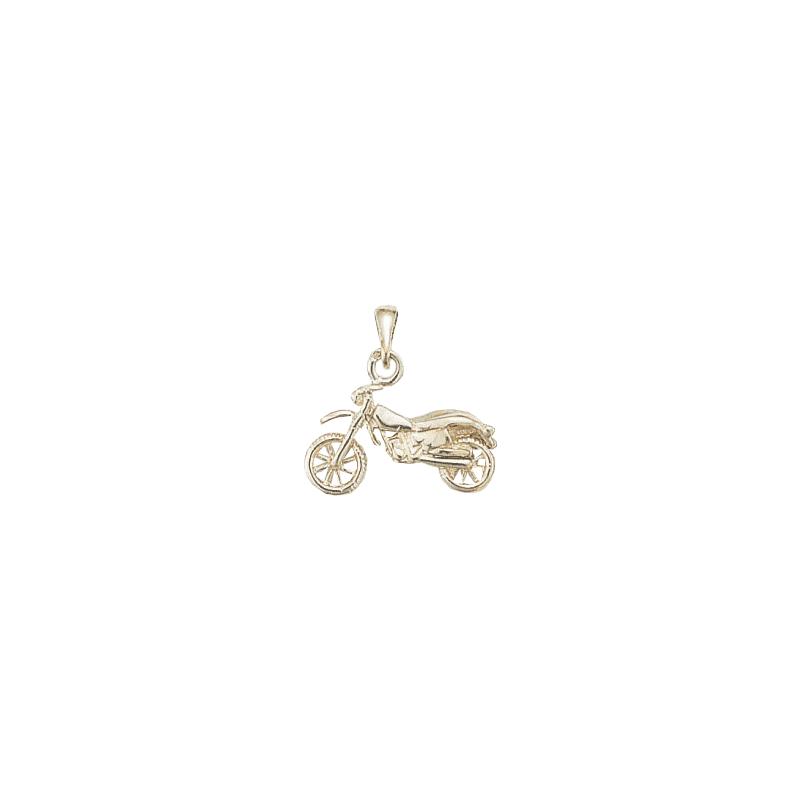 Pendentif moto-cross argent - La Petite Française