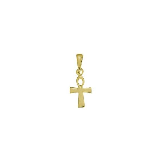 Pendentif Ankh Or 9 carats jaune-  22 MM - La Petite Française