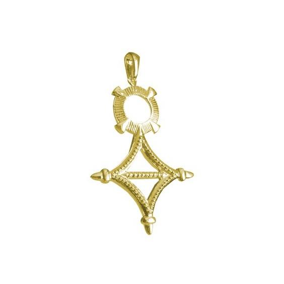 Croix du sud Or 9 carats jaune - 48 MM - La Petite Française