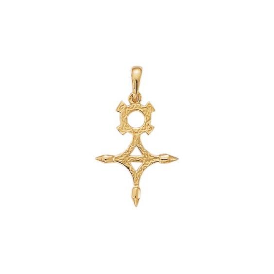 Croix du sud Or 9 carats jaune - 33 MM - La Petite Française