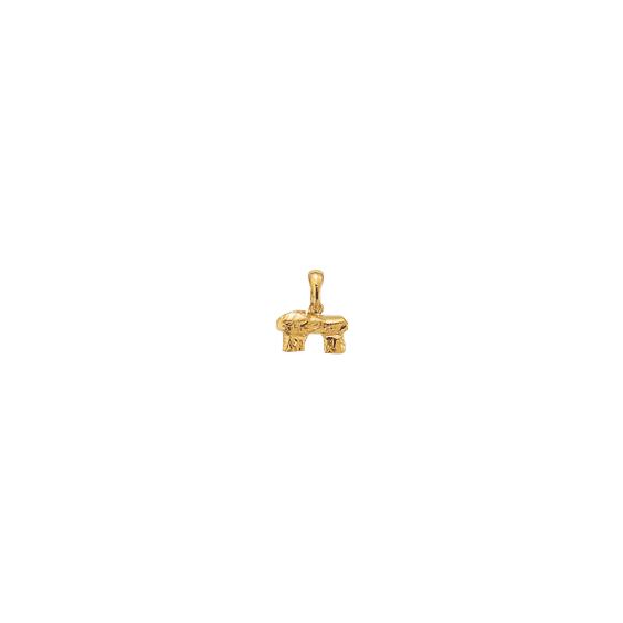 Pendentif Dolmen Or 9  carats  jaune - La Petite Française