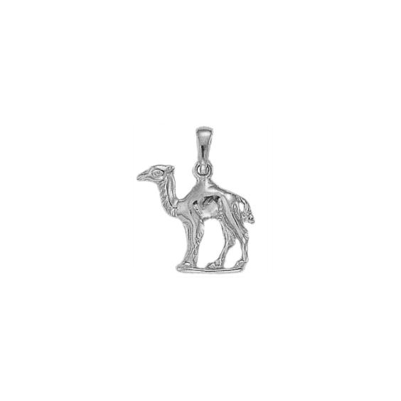 Pendentif dromadaire Or 9 carats gris - 24 MM - La Petite Française