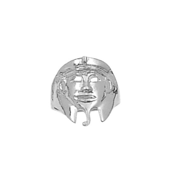 Bague Pharaon Or 18 carats gris - La Petite Française