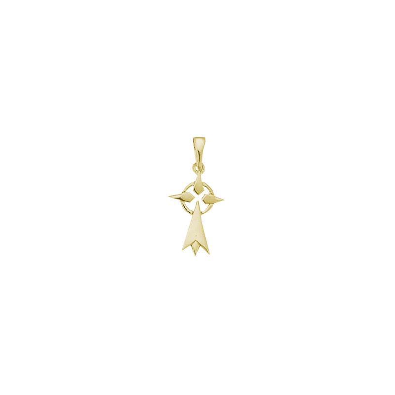 Pendentif hermine Or 18 carats jaune - 28 MM - La Petite Française