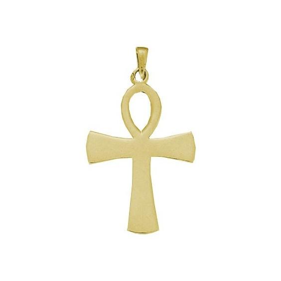 Pendentif Ankh Or 18 carats jaune -  44 MM - La Petite Française