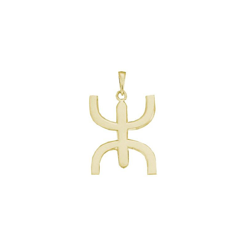 Pendentif Berbère Or 18 carats jaune - 39 MM - La Petite Française