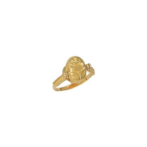 Bague scarabée Or 18 carats jaune - La Petite Française