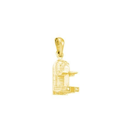 Pendentif Notre-Dame de Paris Or 18 carats jaune - La Petite Française