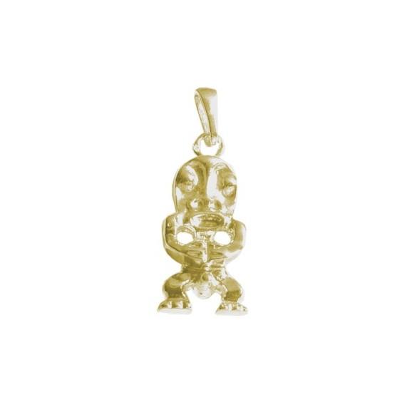 Pendentif Tiki Polynésien Or 18 carats jaune - La Petite Française