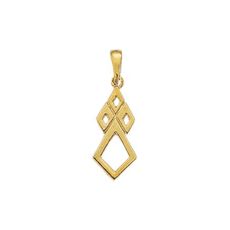 Pendentif hermine Or 18 carats jaune - 30 MM - La Petite Française