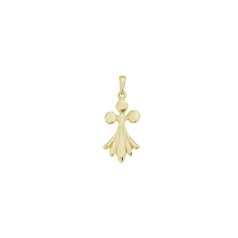 Pendentif hermine Or 18 carats jaune - 34 MM - La Petite Française