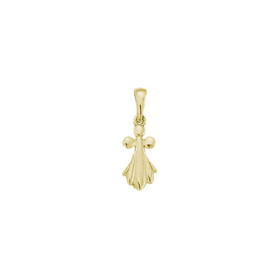 Pendentif hermine Or 18 carats jaune - 24 MM - La Petite Française