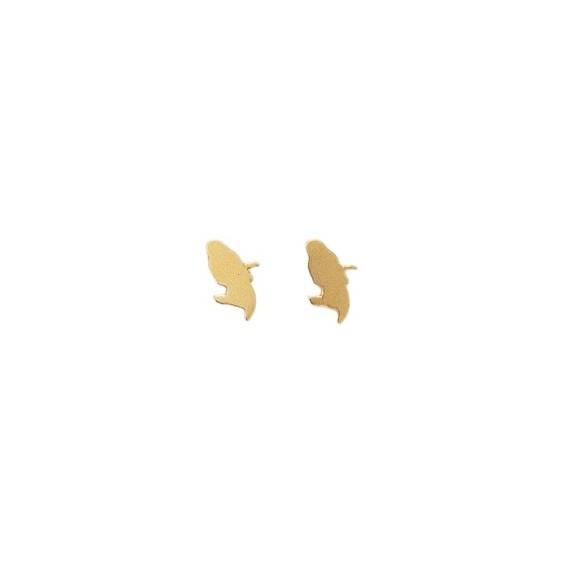 Boucles d'oreilles carte Martinique Or 18 carats jaune - La Petite Française