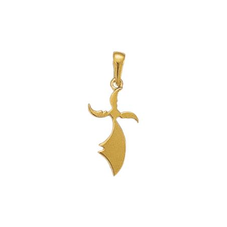Pendentif hermine Or 18 carats jaune - 29 MM - La Petite Française