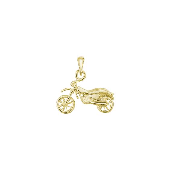 Pendentif moto-cross Or 18 carats jaune - La Petite Française